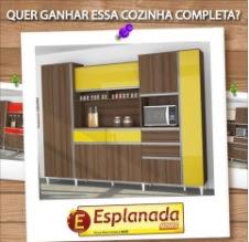 Promoção Esplanada Móveis 2017 Concorra Armário Cozinha Completo