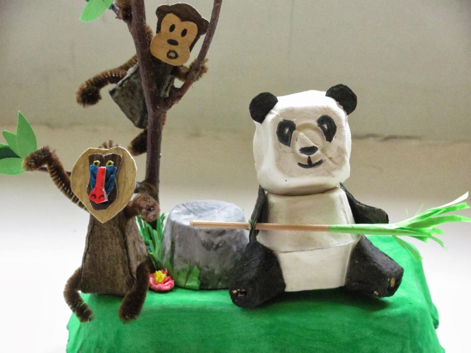 Jumble Tree Egg Carton Panda