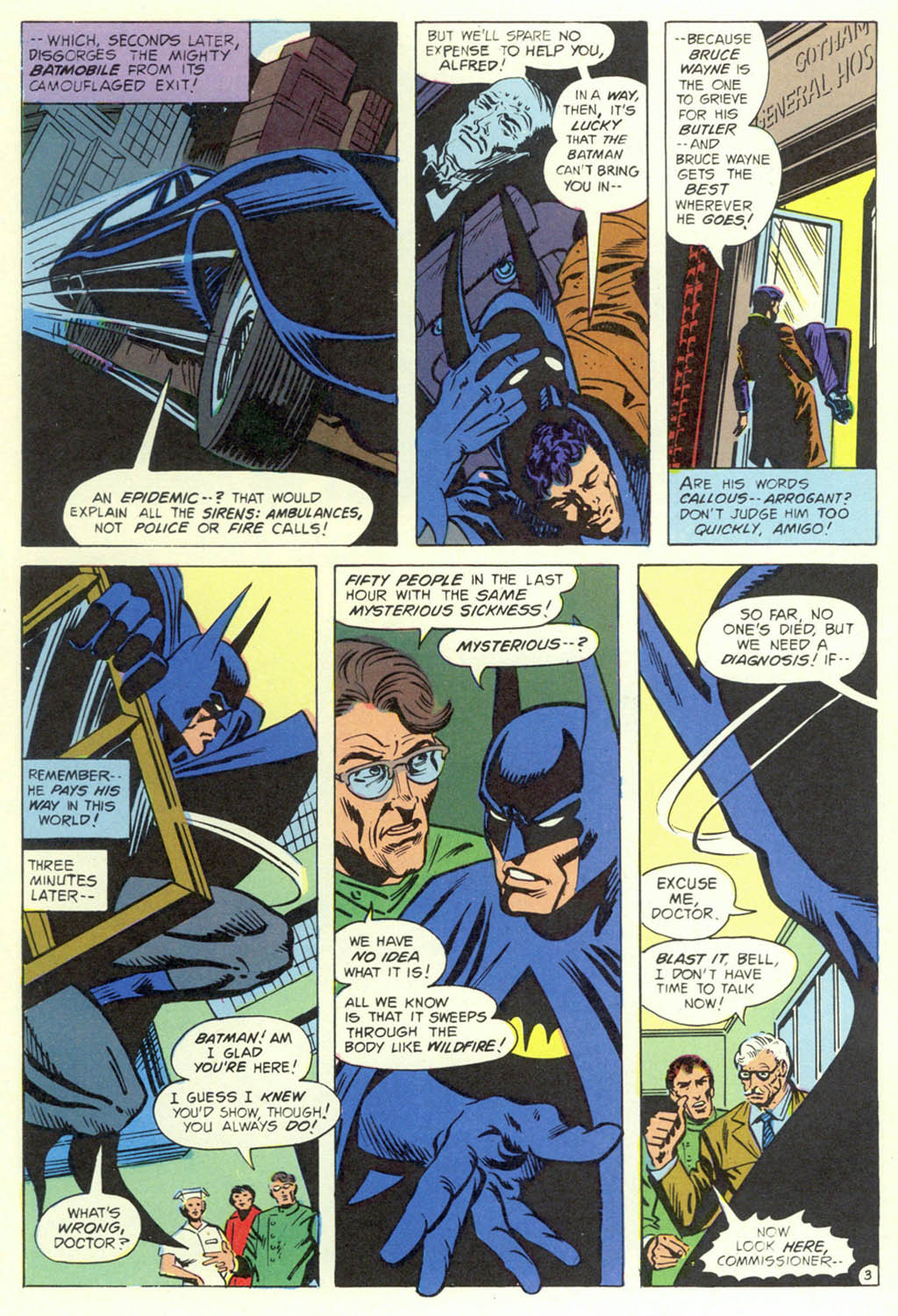 Read online Shadow of the Batman comic -  Issue #1 - 5