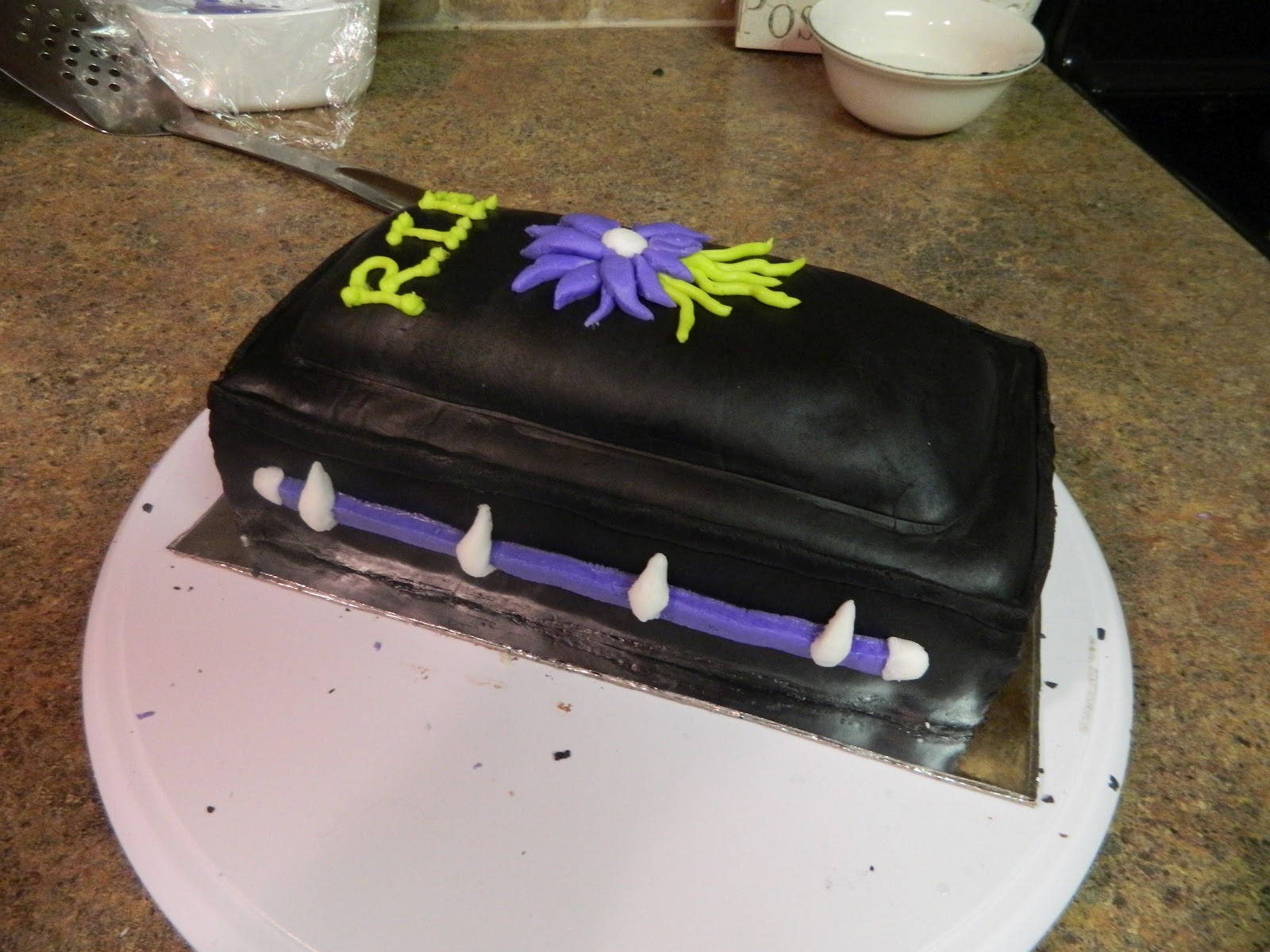 Mortician Birthday Cakes