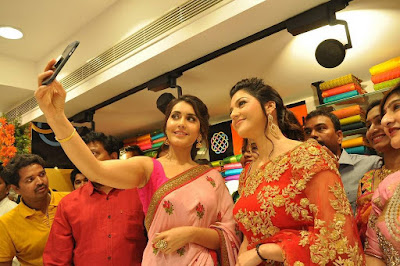 Raashi-Khanna-Mehrene-At-KLM-Fashion-Mall-Launch7