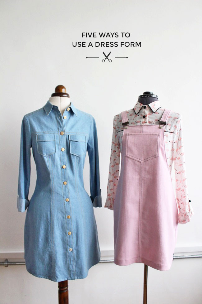 Interesting ways to make the most of your dress form! - Tilly and the Buttons