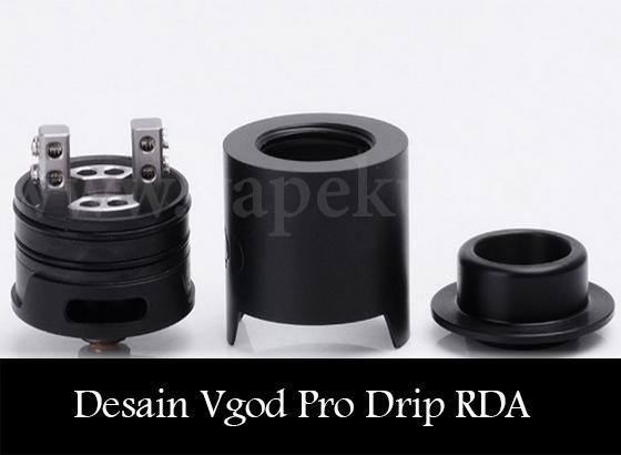 Desain Deck Vgod Pro Drip RDA