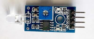Modul senzor de lumină cu fotodiodă