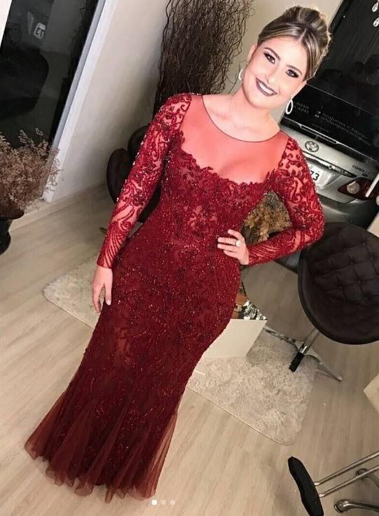 vestido de festa vermelho patricia bonaldi