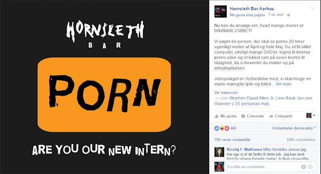 trabajo soñado, pagan por ver pornografía
