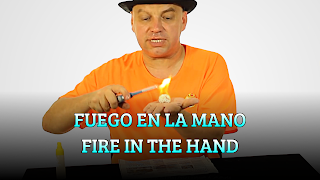 Fuego en la mano, LIQUIDS DENSITY, Fire in the hand