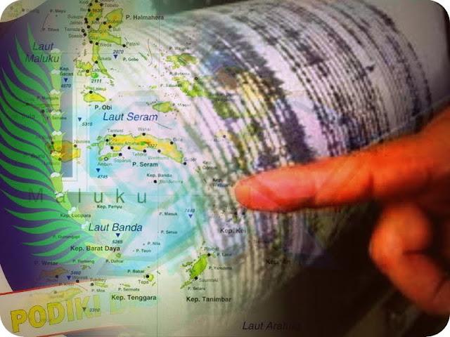 Gempa Bumi 5,0 SR Guncang Morotai, Tidak Berpotensi Tsunami