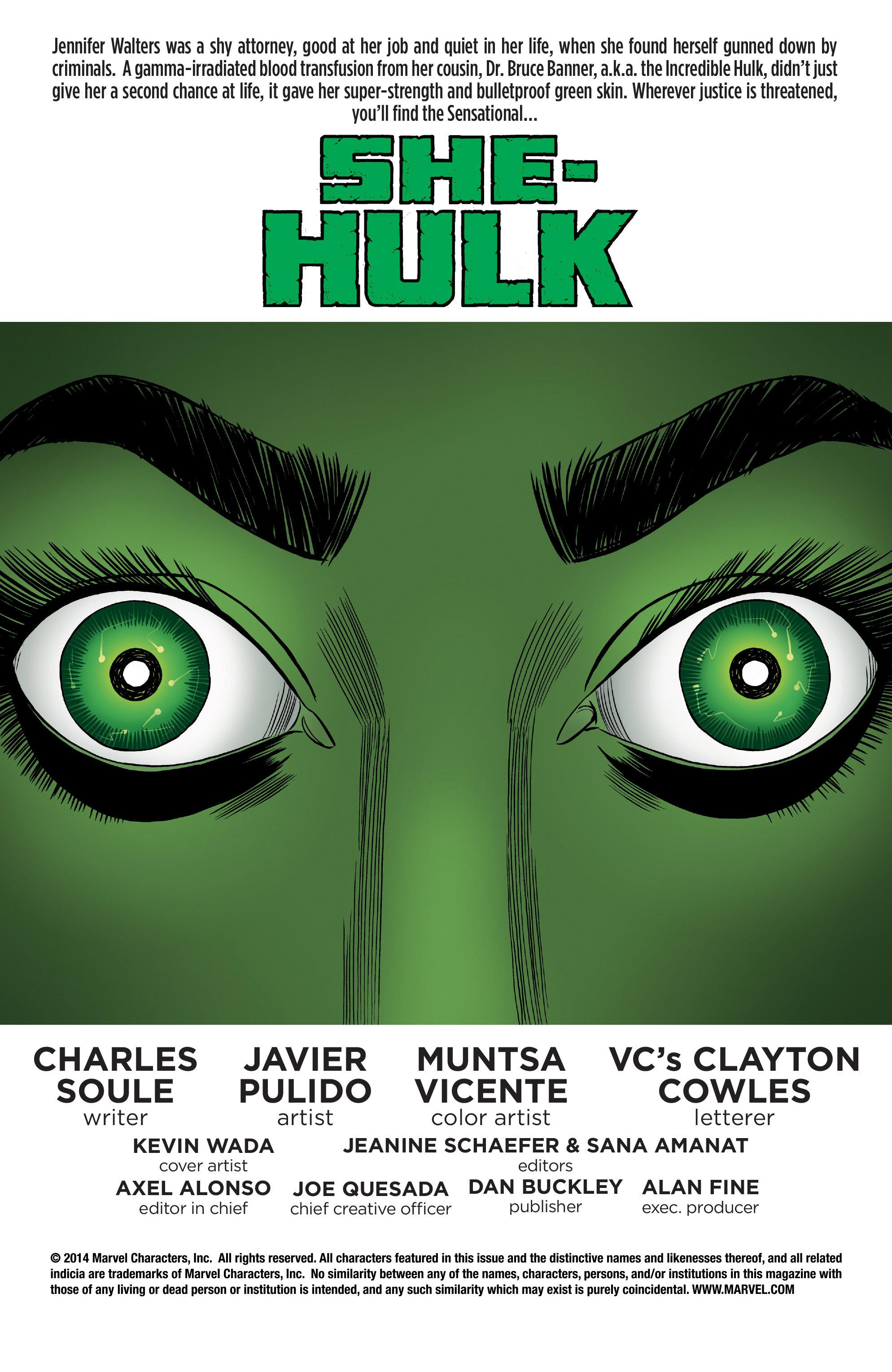 Read online She-Hulk (2014) comic -  Issue #7 - 2