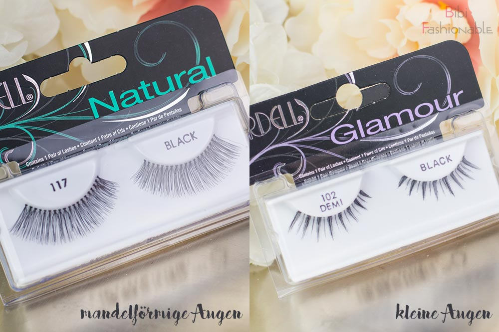 False Lashes Guide Ardell Lashes 117 Black 102 Black