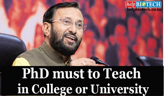 PhD must to Teach in College and University Ad
