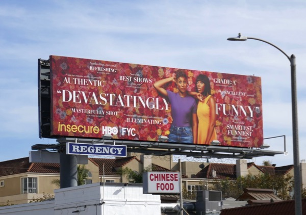 Insecure season 3 FYC billboard