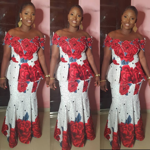 a36336e8394b11 Ankara Skirt and Blouse Aso Ebi Style 2018 You Should Try Out ...
