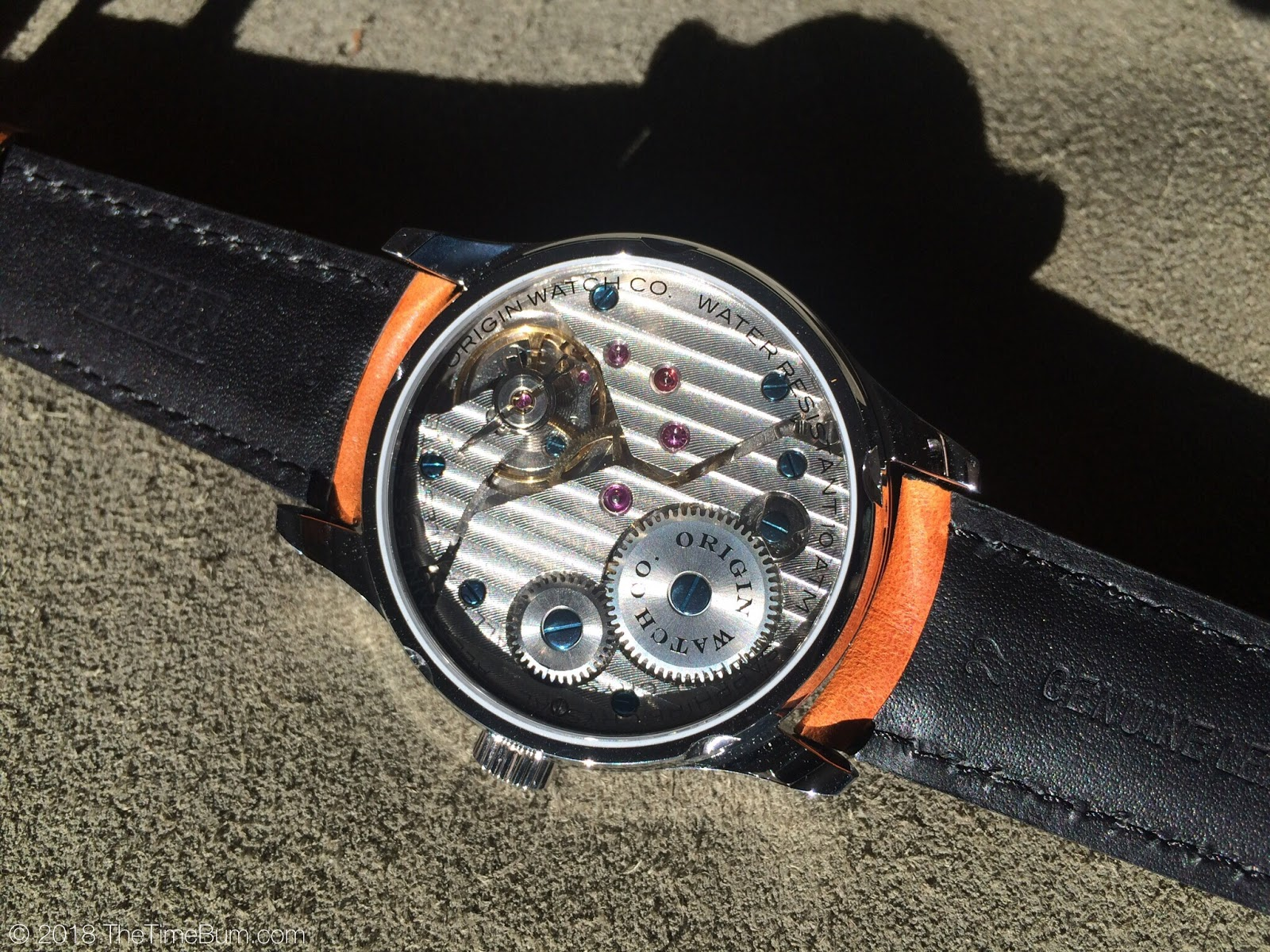 Origin Watch Company Field Watch 2nd Edition movement