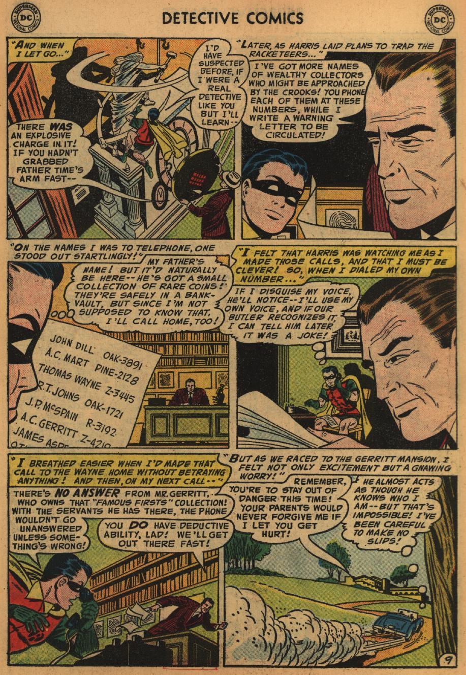 Read online Detective Comics (1937) comic -  Issue #226 - 11