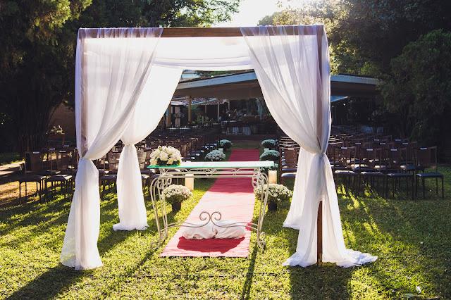 altar do casamento religioso