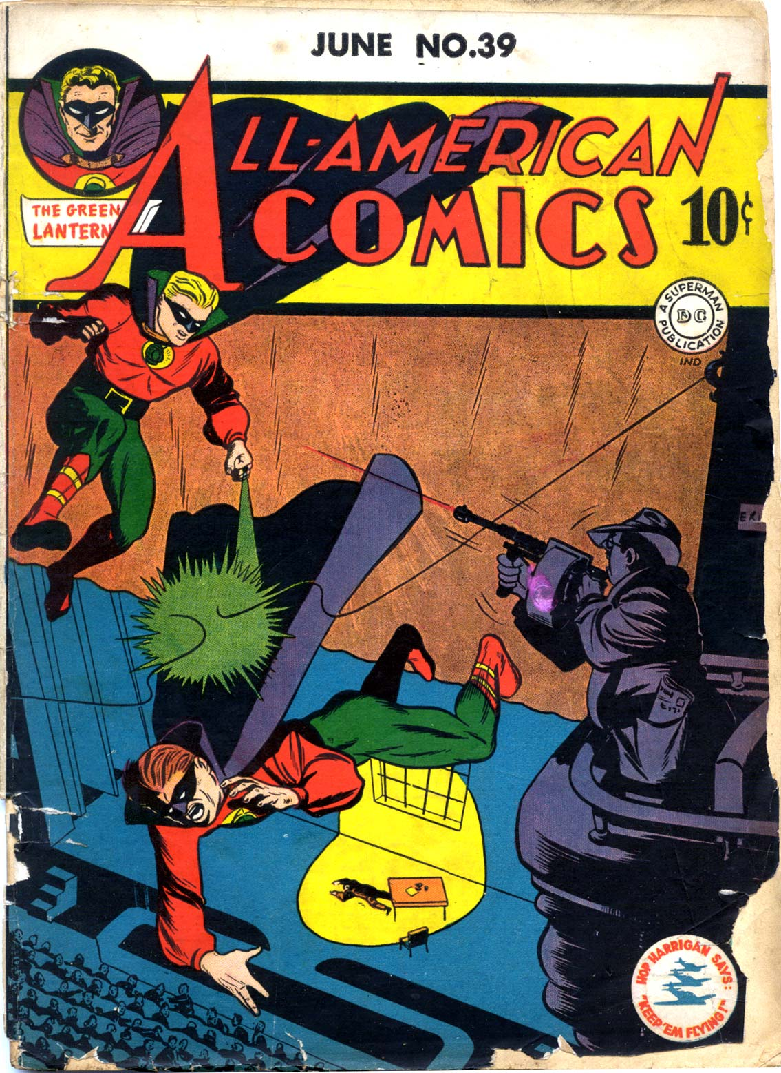 Read online All-American Comics (1939) comic -  Issue #39 - 1
