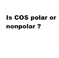 Is COS polar or nonpolar ?