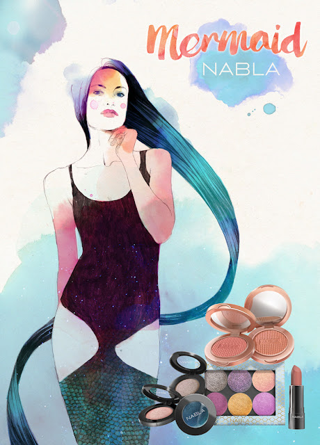 Mermaid Collection di Nabla Cosmetics