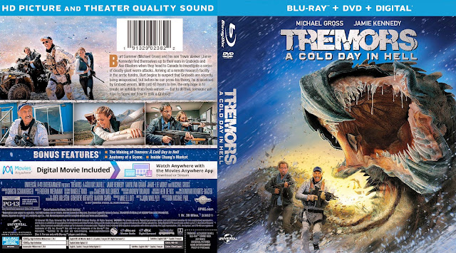Tremors A Cold Day in Hell Bluray Cover