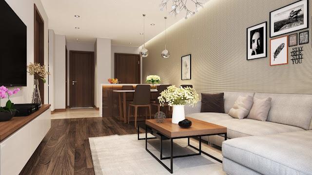 Nhà mẫu của chung cư Hateco Xuân Phương
