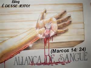 Imagem da Mão de CRISTO pregada na cruz, derramando o Sangue do CORDEIRO de DEUS, em resgate do ser humano