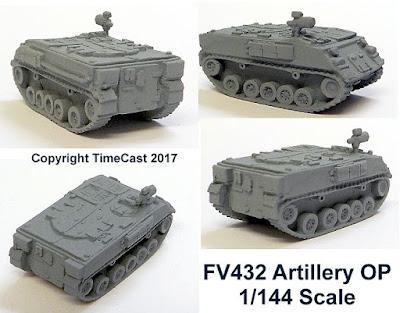 FV432 Artillery OP