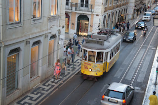 Tram 28 from our Airbnb apartment