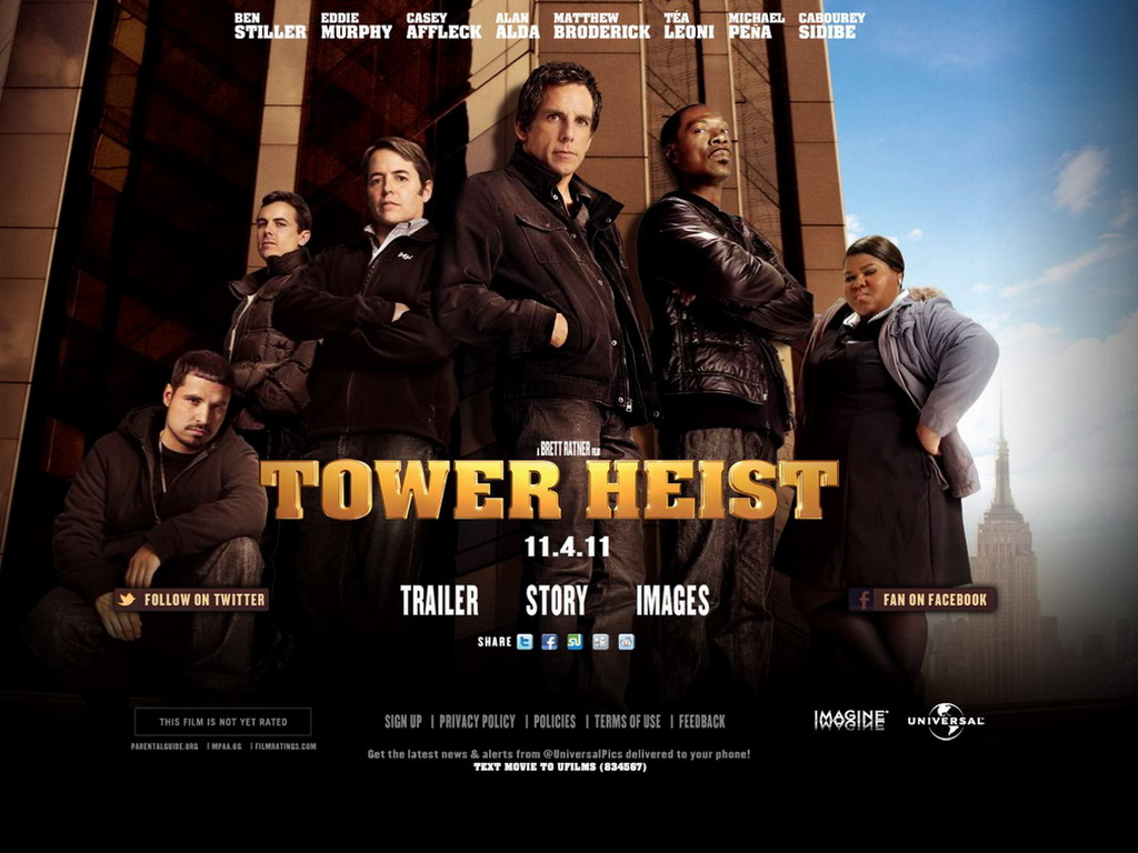 Sisterlines Space in Time: Tower Heist