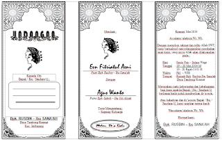 undangan pernikahan word