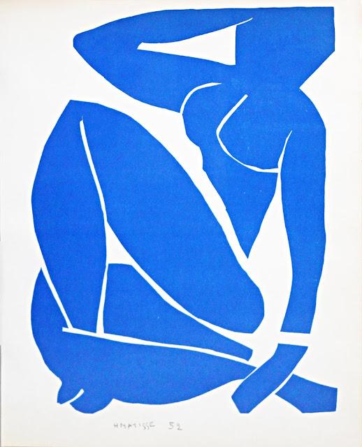 Henri Matisse Mavi Nü II