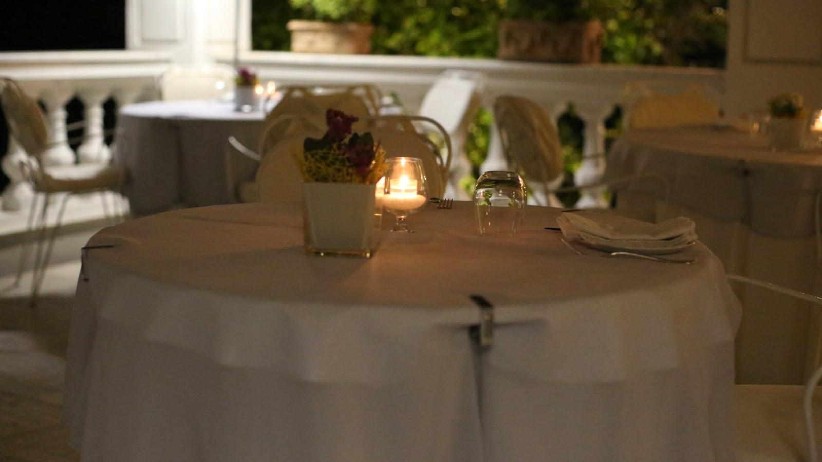 grand hotel cocumella dinner