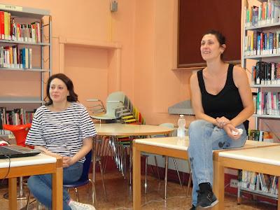 Silvia Cascio e Giulia Barucco vita da bibliotecari