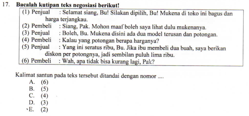 PENGERTIAN DAN CONTOH KALIMAT SANTUN ~ ZUHRI INDONESIA