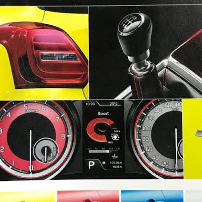 Transmisi dan cluster meter Swift Sport 2018