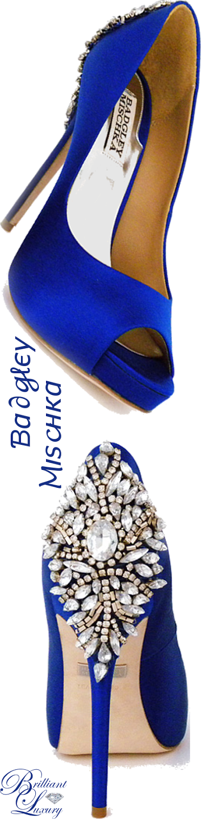 Brilliant Luxury ♦ Badgley Mischka 'Kiara Sapphire'