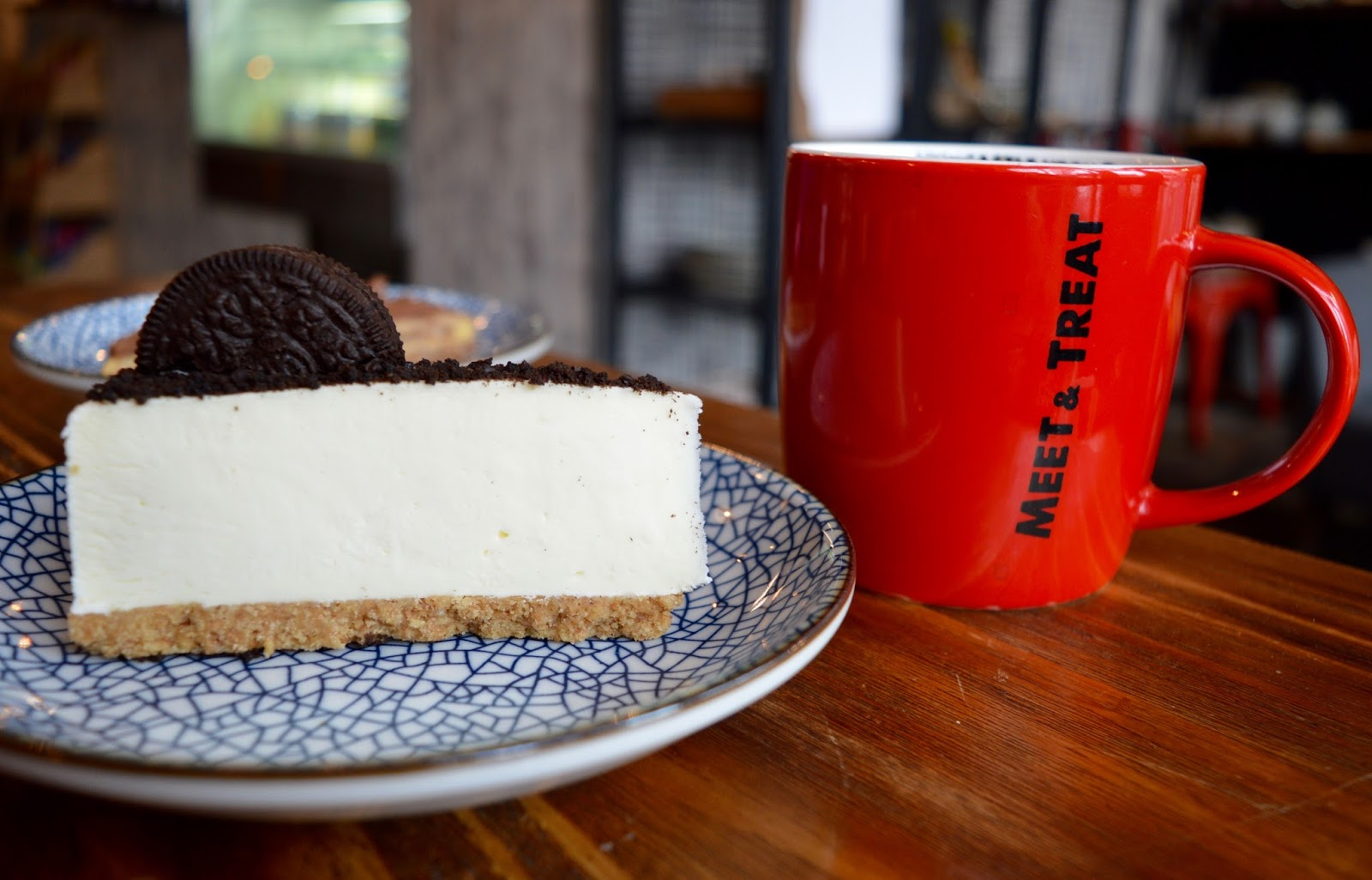 Meet and Treat Newcastle Cafe | A Perfect Spot for Pre-Theatre Drinks & Cakes with Kids for Tyne Theatre and Opera House - Oreo cheesecake