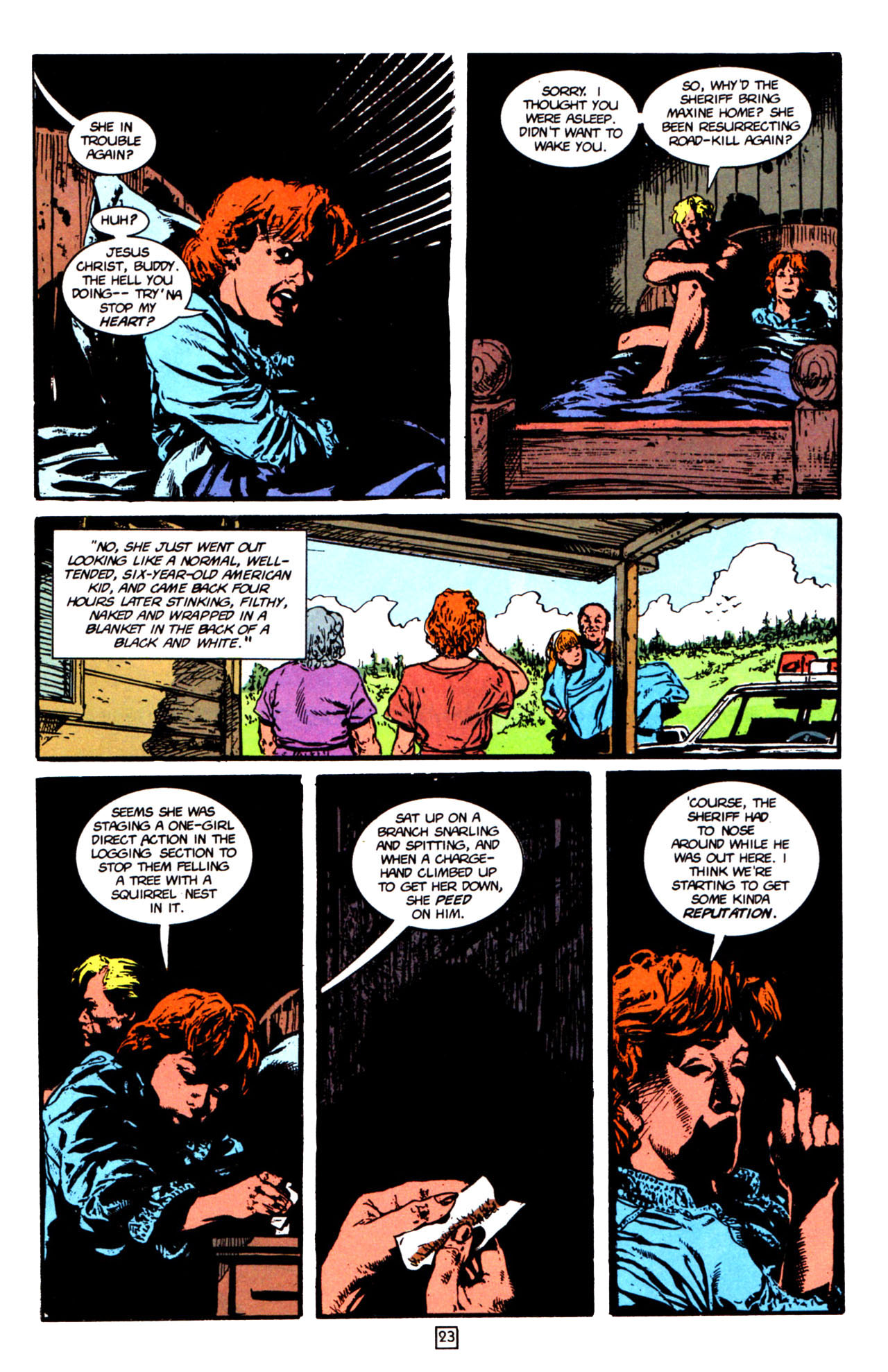 Read online Animal Man (1988) comic -  Issue #66 - 26