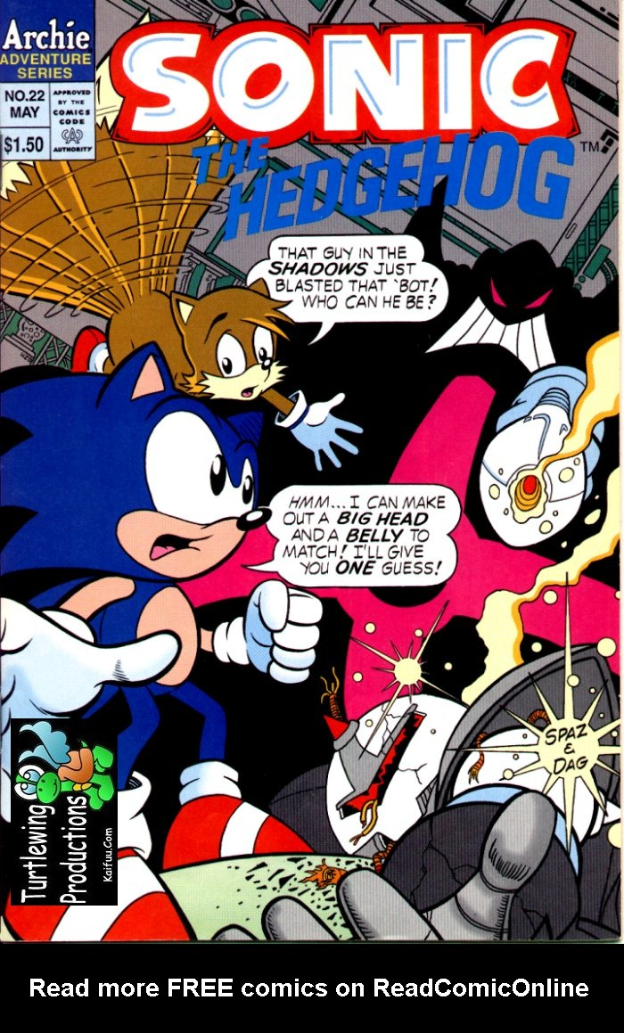 Read online Sonic The Hedgehog comic -  Issue #22 - 1