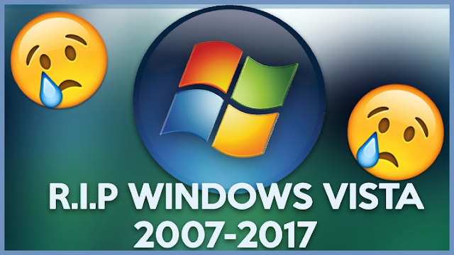 Microsoft Shut Down Support To Windows Vista