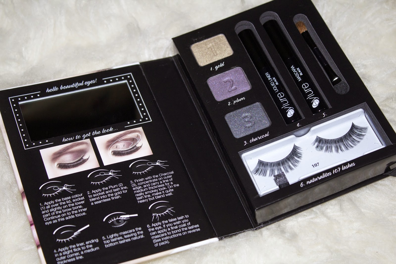 11cf35c24a3 New Release   Eyelure Warm Smokey Eye - Get The Look Kit   Review/Swatches