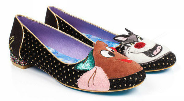 irregular choice lucifer & gus shoes cinderella