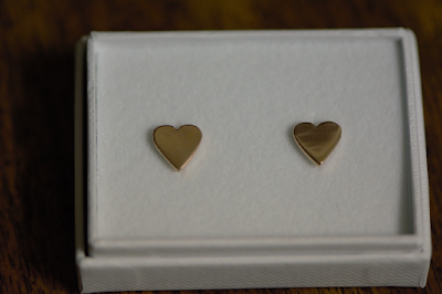 Lily Charmed: Rose Gold Heart Earrings Review