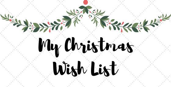 My Christmas wish list !