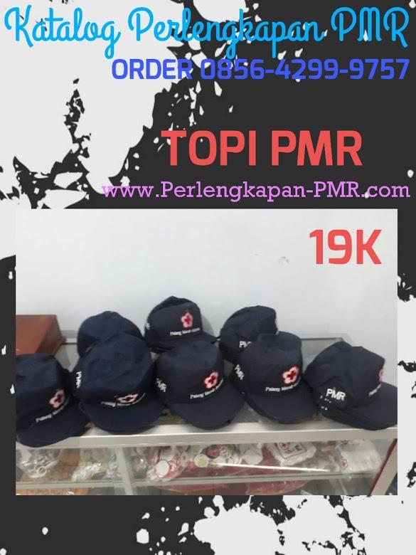 Topi PMR Murah Hanya Rp. 19.000 Bisa mencantumkan Nama Sekolah