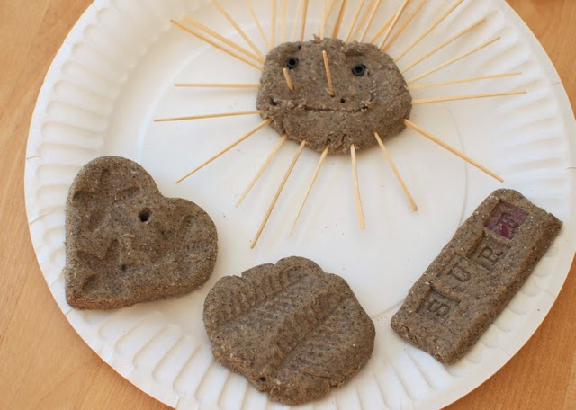 Make sand dough! Great way to bring summer into kid's play