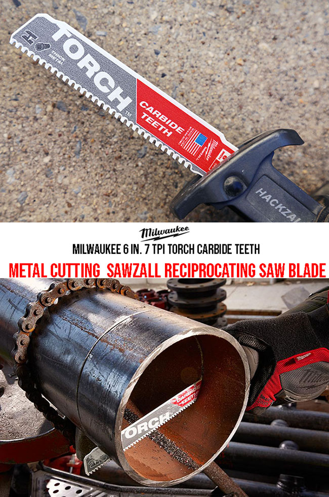 TORCH - carbide teeth metal blade