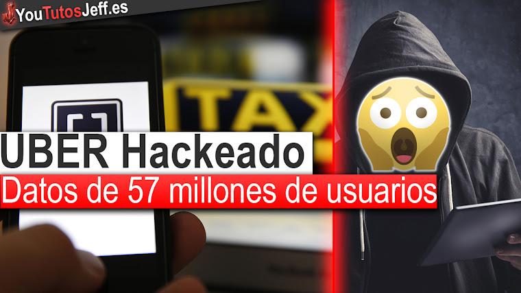 Uber Hackeado - Con datos de 57 millones de usuarios