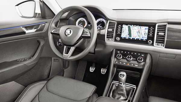 2017 Skoda Kodiaq New Interior Design from India