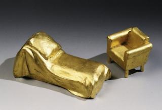 """Hans Hollein """"Sigmund Freud Couch und Sessel"""""""